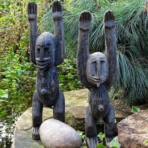 Dogon sculptures from Mali